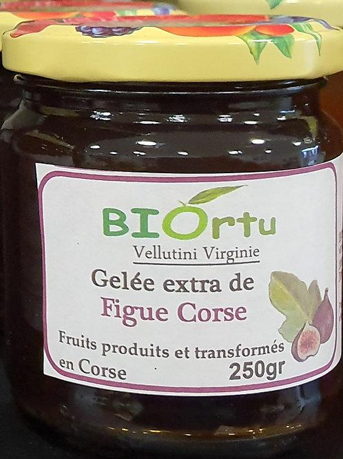 Gelée de figues corses 250gr BIO
