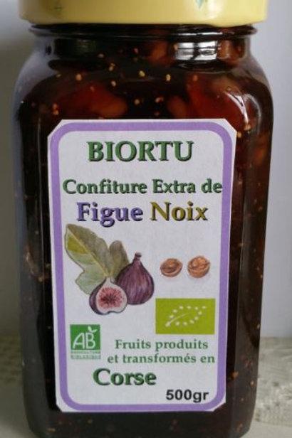 Confiture de figues et Noix BIO 470gr BIO