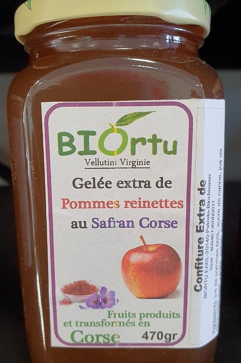 BIORTU - Gelee de pomme au safran