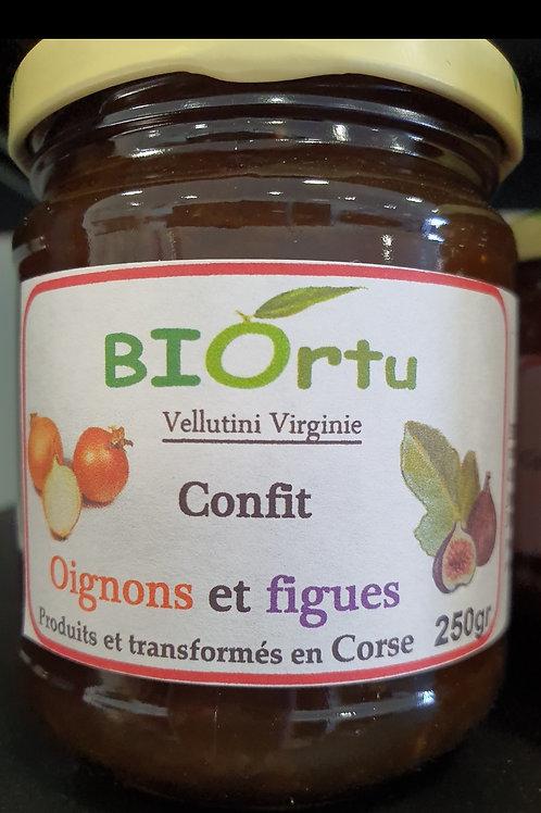 BIORTU - Confit d'oignons à la figue