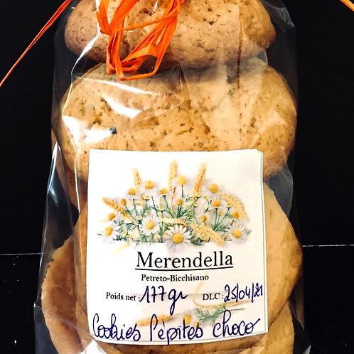 Cookies pépites de chocolat bio
