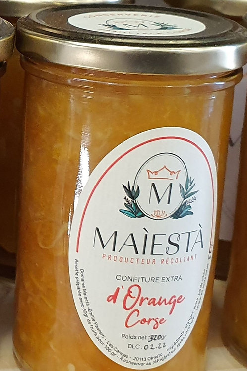 MAIESTA - Confiture d'orange Corse