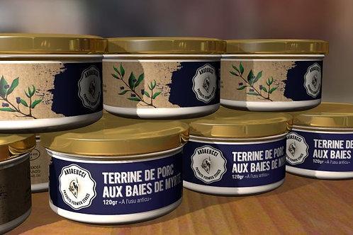 ANDREUCCI - Terrine de porc aux baies de myrte
