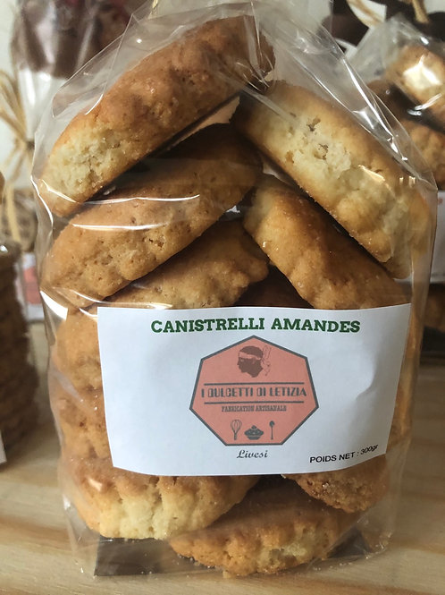 Canistrelli amandes