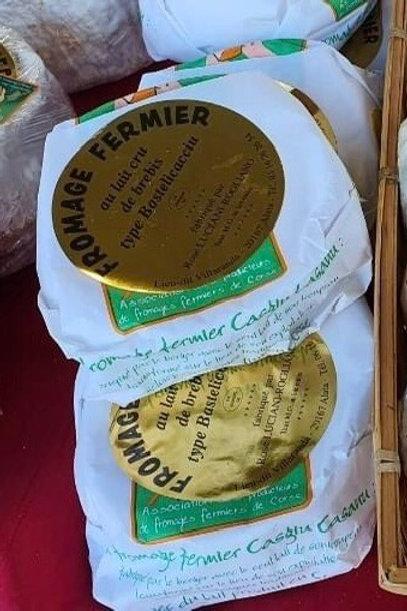 LUCIANI-ROGLIANO ROSE - Fromage Brebis type Bastelicacciu