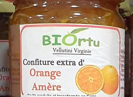 Confiture d'oranges amères (Bigarades) Recette EARL BIORTU