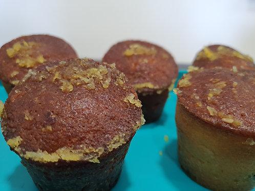 Mini cake ( format muffin) choco/ agrumes