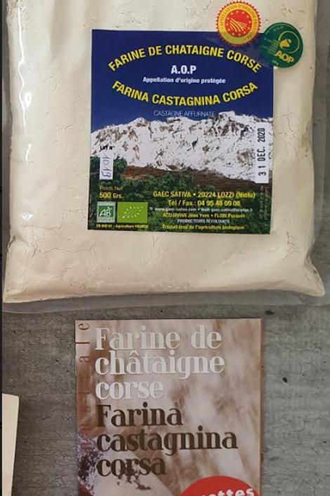 Farine de Châtaignes Corse 500gr