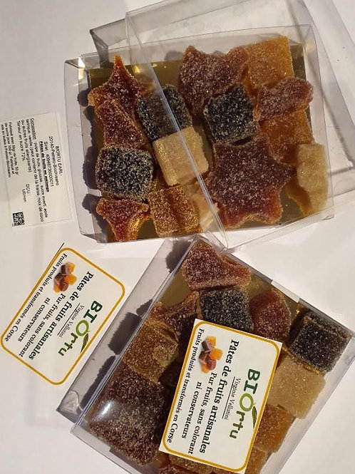 BIORTU - Pâtes de fruits (env.100gr) boite