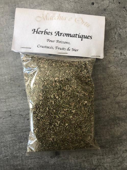 Herbes aromatiques pour poissons