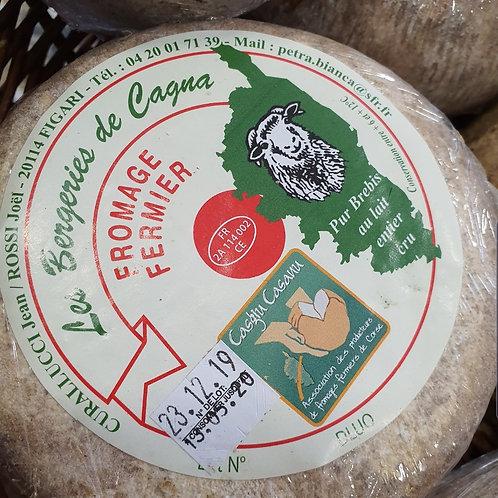 LES BERGERIES DE CAGNA - fromage affiné de brebis 250
