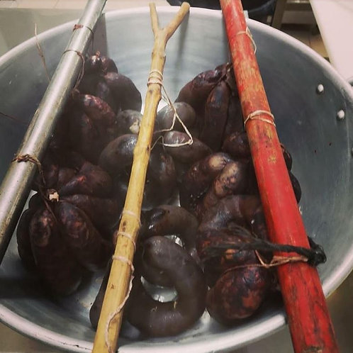 U VALDU - Boudin aux raisins