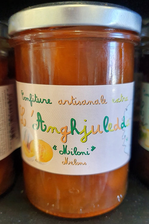 L'ANGHJULEDDA - Confiture de melon BIO