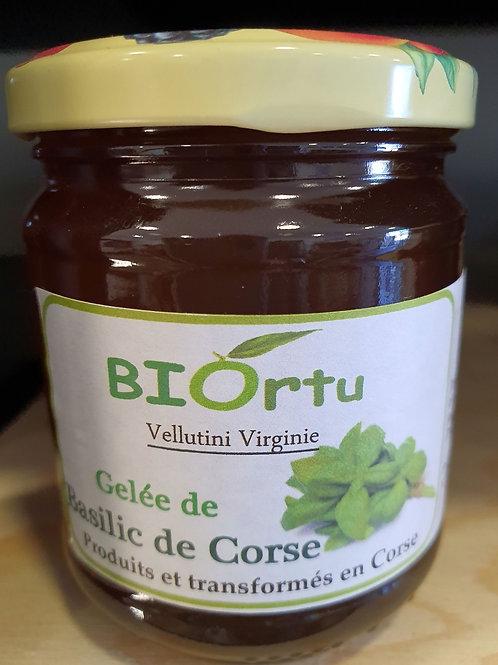 BIORTU - Gelée de basilic