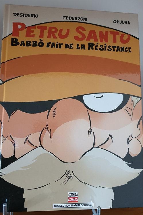 Babbo fait de la résistance BD