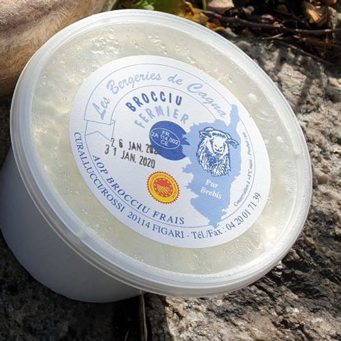 LES BERGERIES DE CAGNA - Brocciu frais fermier de brebis