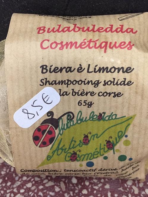 Shampooing citron bière Bulabuledda