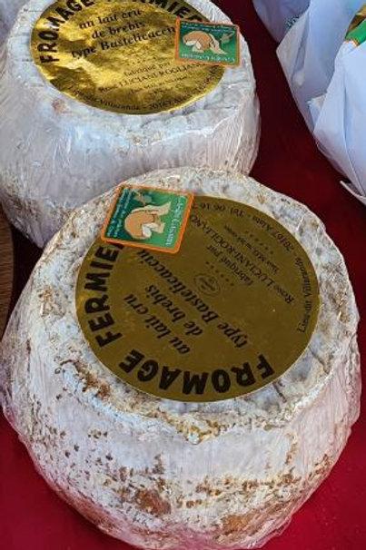 """LUCIANI - Fromage fermier de brebis """"Bastelicaciu"""" à la coupe (environ 200gr)"""