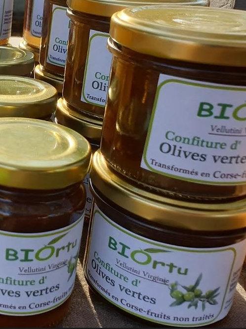 BIORTU - Confiture d'olives vertes