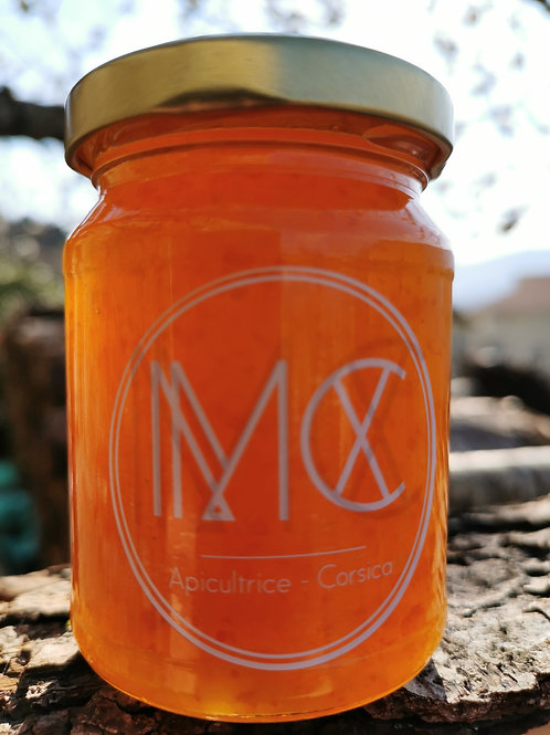 BOCCA - Gelée marmelade d'orange douce corse, miel corse AOP & anis étoilé