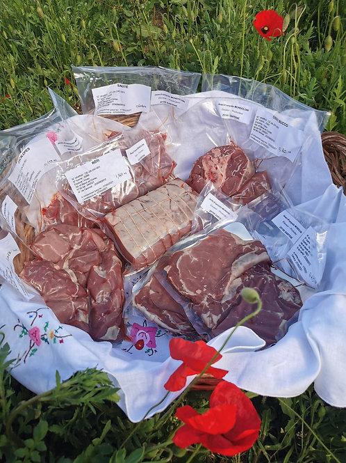 Caissette 5kg viande