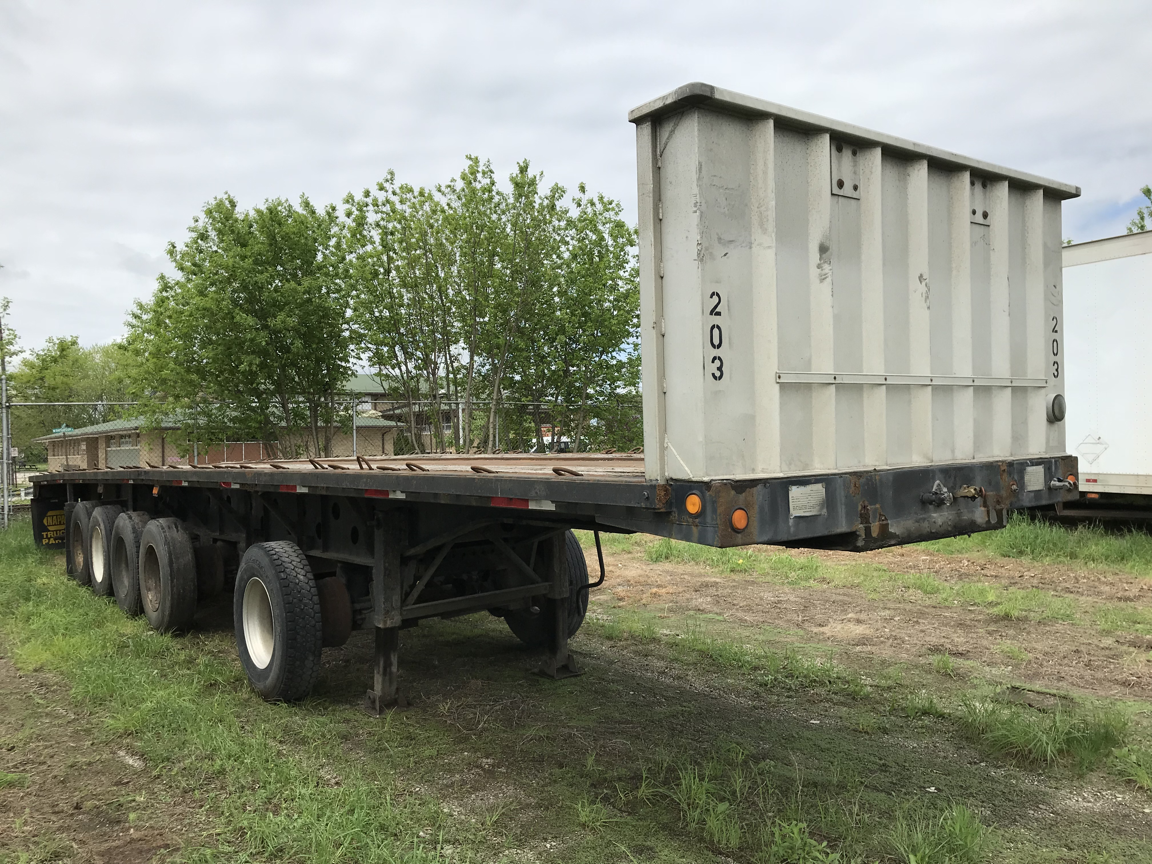 1992 Transcraft Flatbed for sale