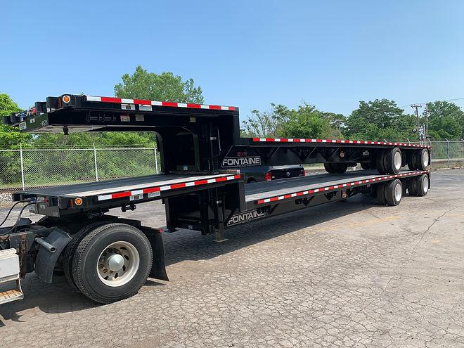 Fontaine Velocity trailer