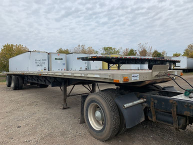 Used flatbed trailers for sale in Michigan