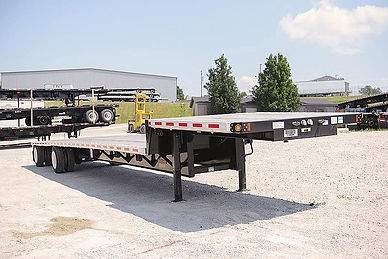 Fontaine step deck trailer