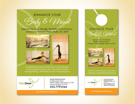 Pilates Denver Flyer & Door Hanger