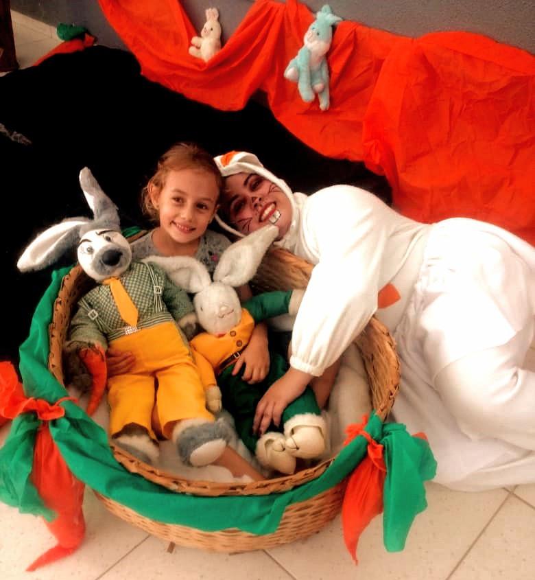 Festa de Páscoa com muita diversão para criançada