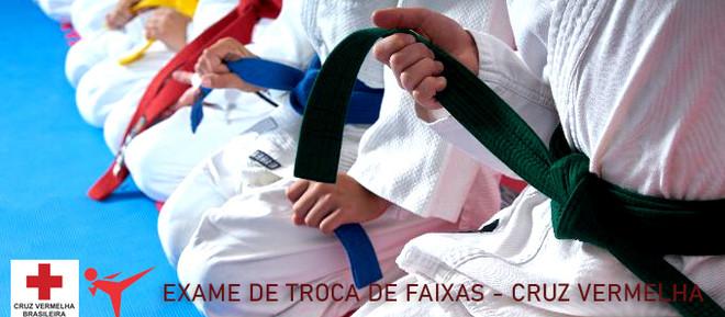 Exame de Faixa Taekwondo Cruz Vermelha
