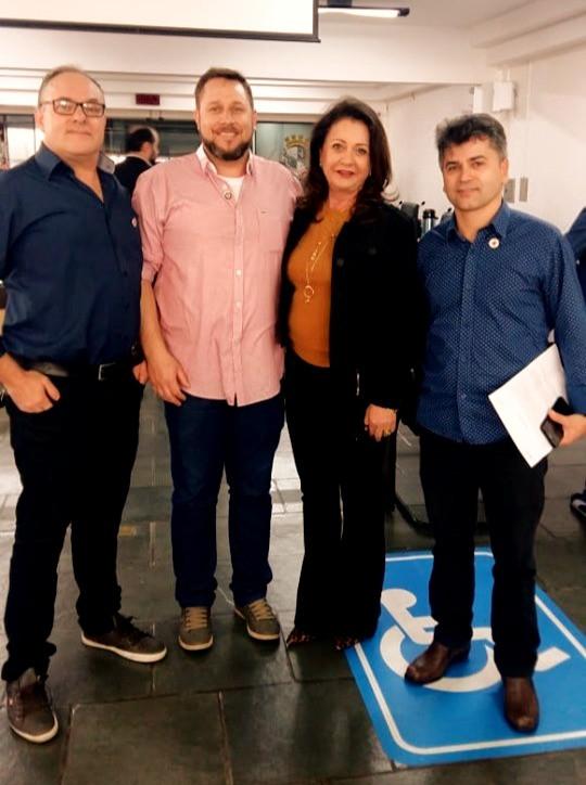 Cruz Vermelha faz apresentação dos Projetos ao Legislativo de Chapecó