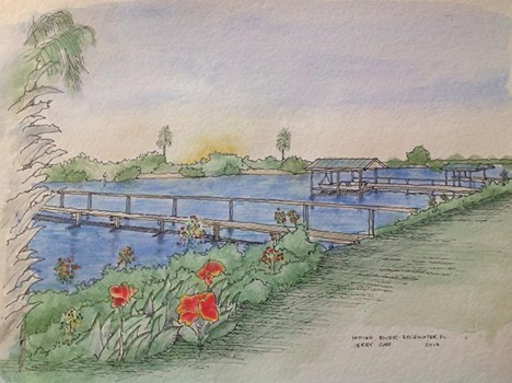 Jerry Art Docks on the River NSB.jpg