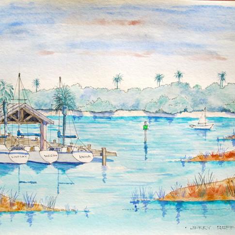 Jerry Art NSB Yacht Club.jpg