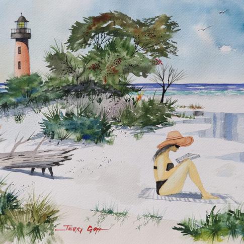 jerry art girl on beach ponce.jpg