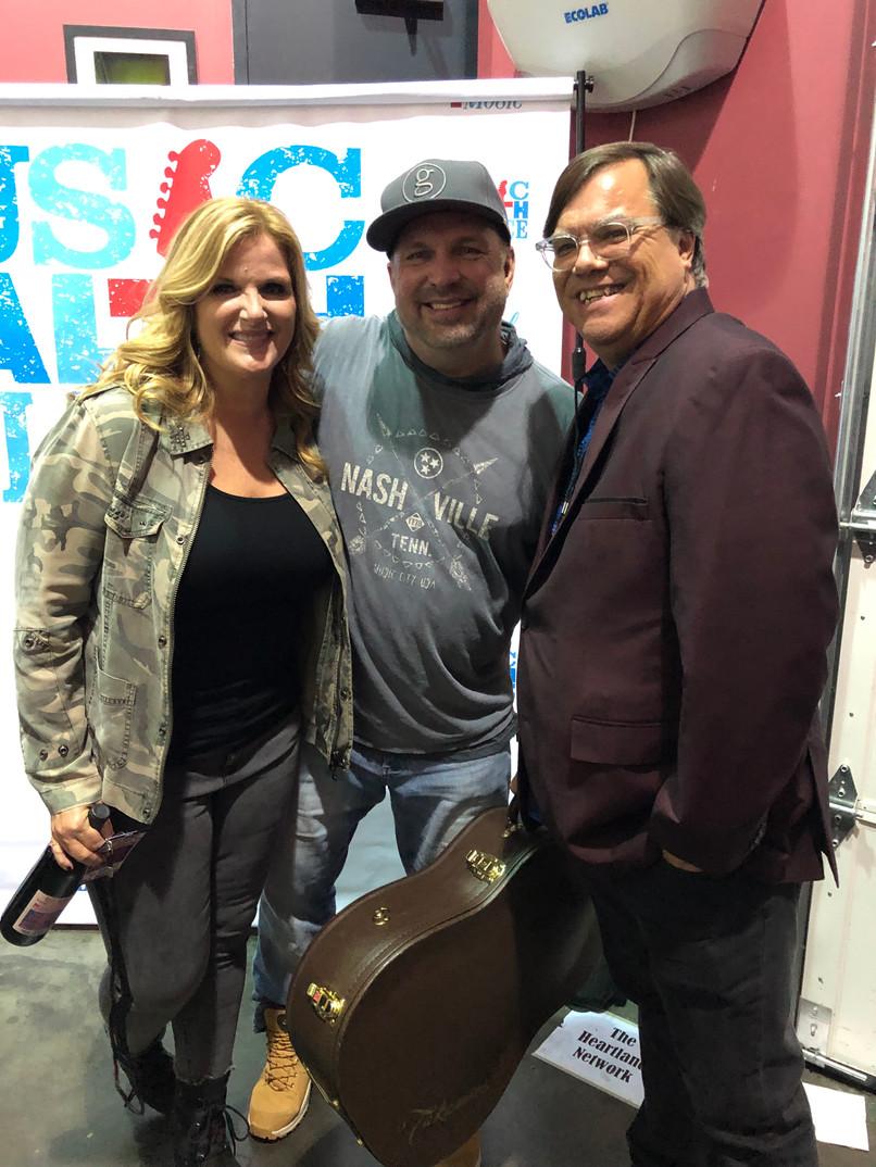 Garth, Trisha, and Doak
