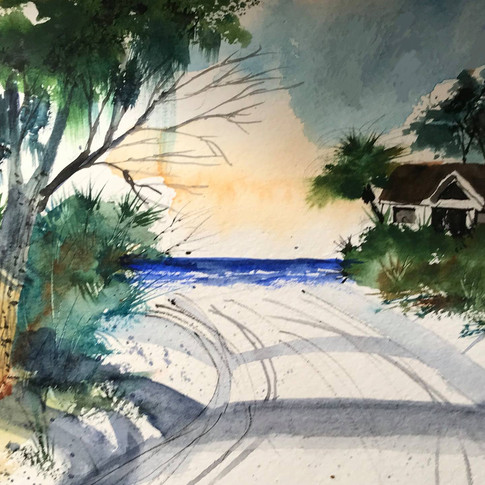 Jerry Art Road to the Beach.jpg