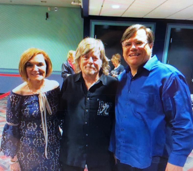 Jock Bartley, Kathy, and DT