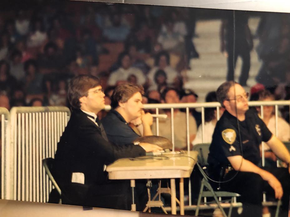 Wrestling Dt and Tony Schavanee