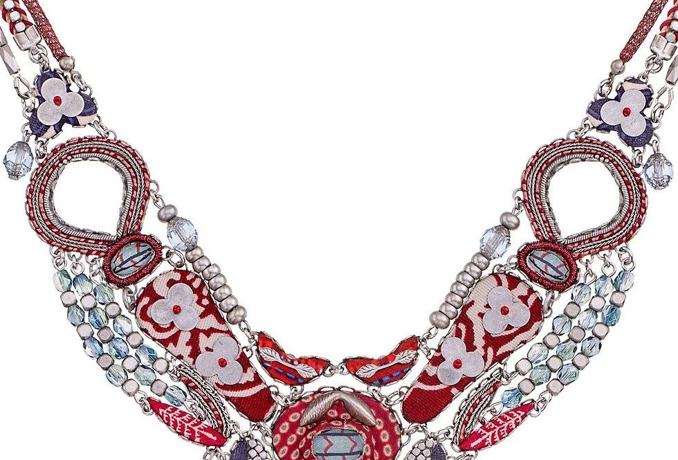 Collana Ayala Bar necklace  red rock HIP collection