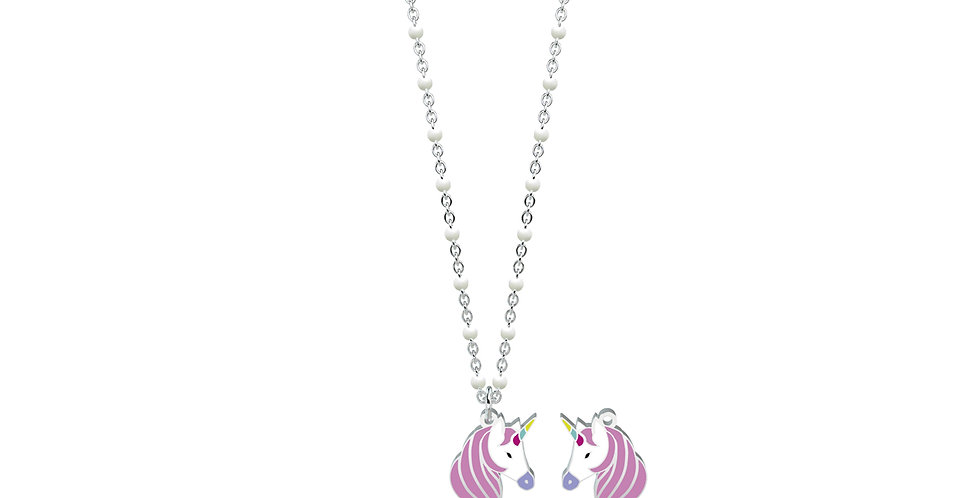 KIDULT collana SYMBOLS 751054 unicorno -  desideri