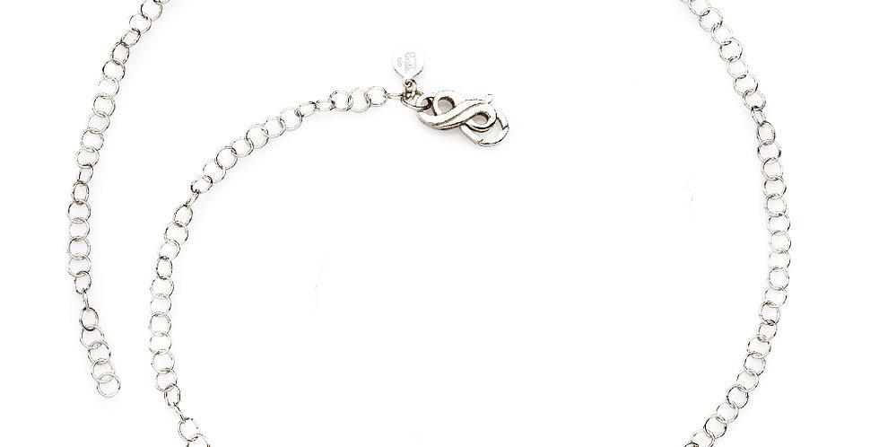 RIVALTA Collana con catena in argento