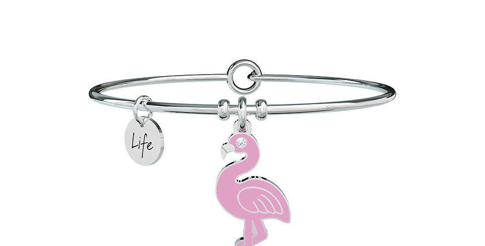 KIDULT bracciale ANIMAL PLANET 731285  flamingo-unicità