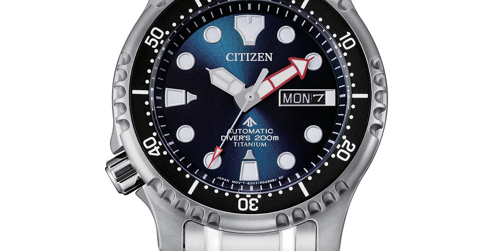 CITIZEN Promaster Diver's Automatic 200 mt sub Super Titanio