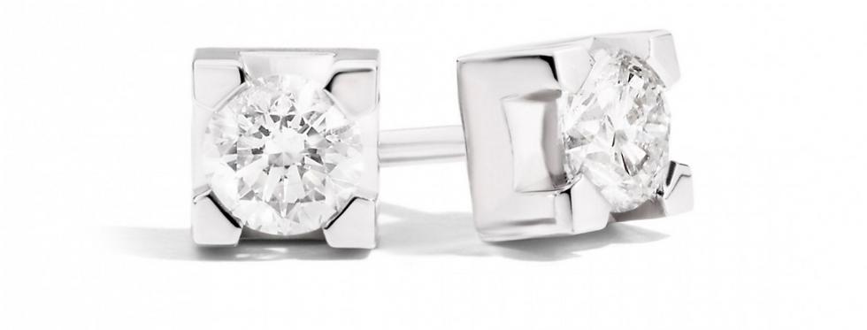 RECARLO Orecchini Oro 18Kt e diamante Brillante E30PX265/035