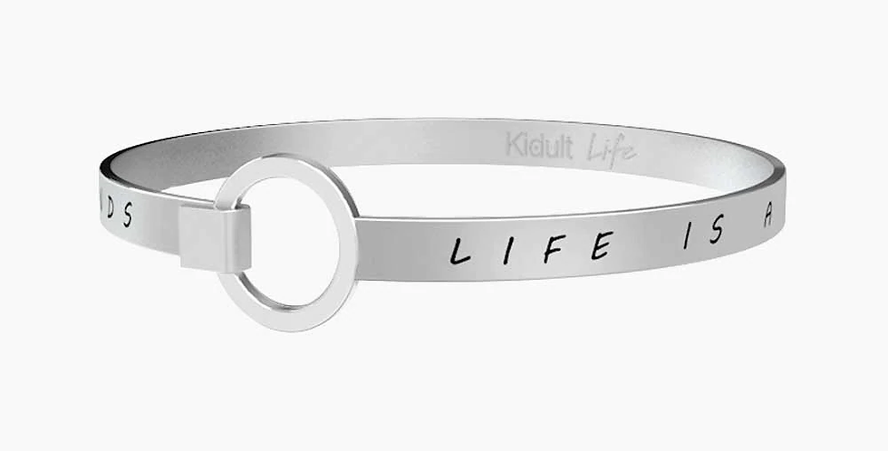 KIDULT bracciale 731103 Life is a journey to share with friends