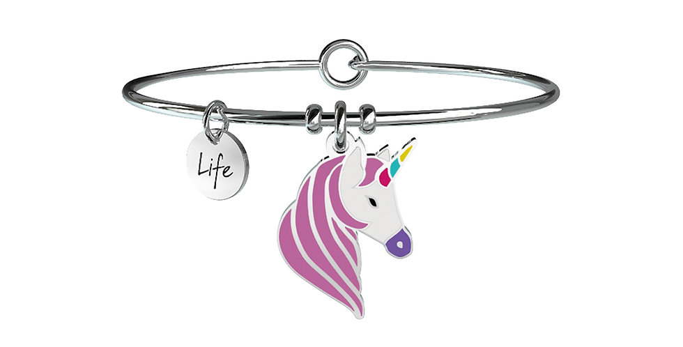 KIDULT bracciale  SYMBOLS 731241  unicorno-desideri
