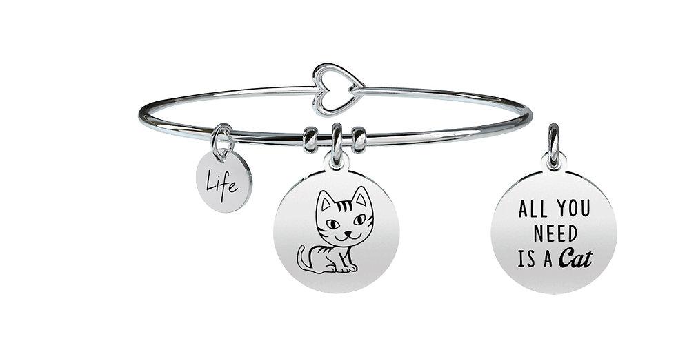 KIDULT bracciale ANIMAL PLANET 731373  gatto-compagnia