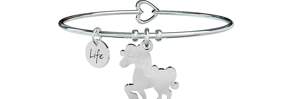 KIDULT bracciale ANIMAL PLANET 731499 cavallo-libertà